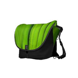grooming green messenger bag