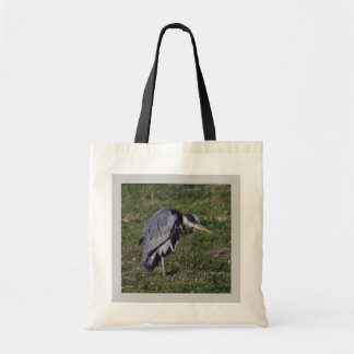 Grooming Heron Canvas Bag