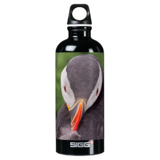 Grooming Puffin Aluminum Water Bottle