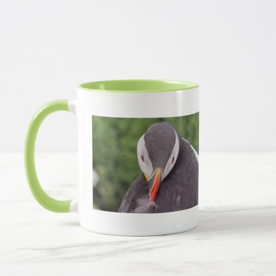 Grooming Puffin Mug