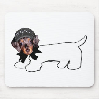 Groom's Autograph Hound Mouse Pad