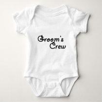Groom's Crew Baby Bodysuit