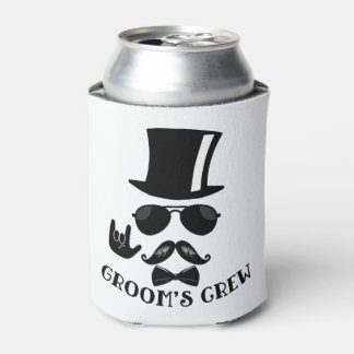 Groom's Crew Bachelor Party Hipster Favors Can Cooler