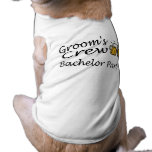 Grooms Crew (Bachelor Party) Pet Tshirt