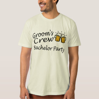 Grooms Crew (Bachelor Party) T-shirt