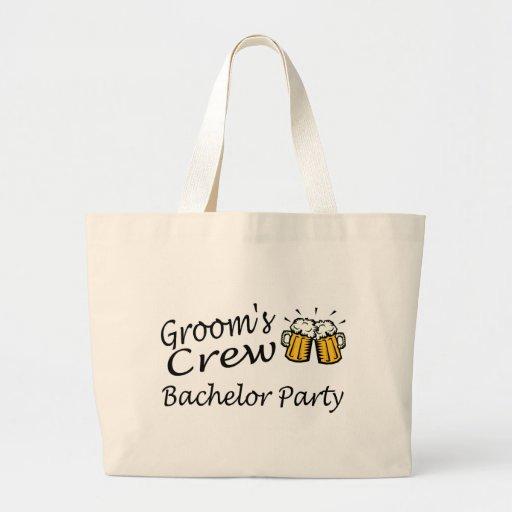 Grooms Crew (Beer Jugs) Tote Bag
