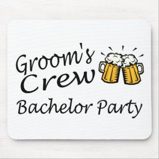 Grooms Crew (Beer Jugs) Mouse Mat