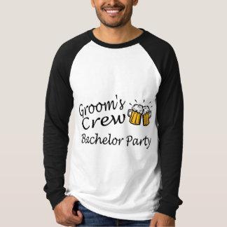 Grooms Crew (Beer Jugs) Shirt