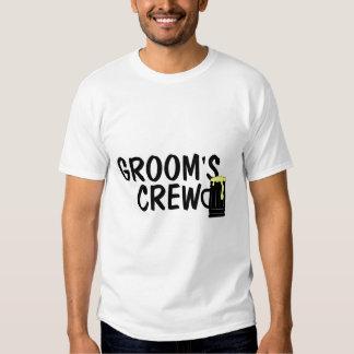 Grooms Crew Beer T-shirt