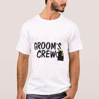 Grooms Crew (Beer) T-Shirt