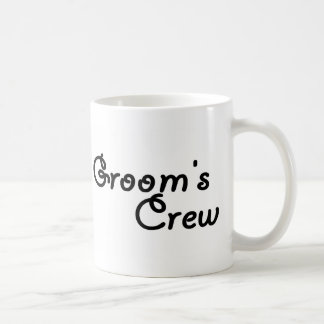 Groom's Crew (Blk) Coffee Mug