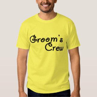 Groom's Crew (Blk) T-shirt