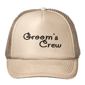 Groom's Crew (Blk) Trucker Hat