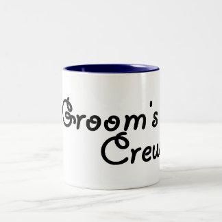 Grooms Crew Coffee Mugs