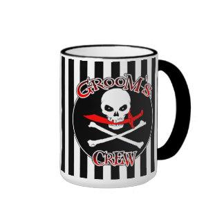 Groom's Crew Ringer Mug
