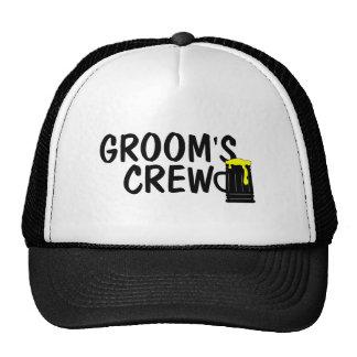 Grooms Crew Trucker Hat