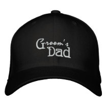 Groom's Dad Embroidered Baseball Cap