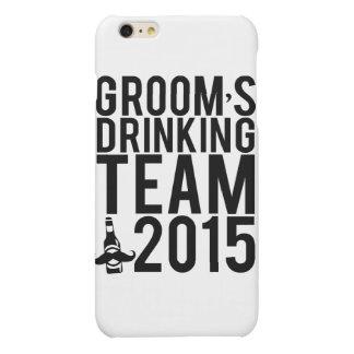 Groom's drinking team 2015 matte iPhone 6 plus case