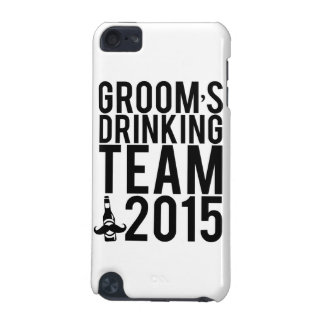 Groom's drinking team 2015 iPod touch 5G case