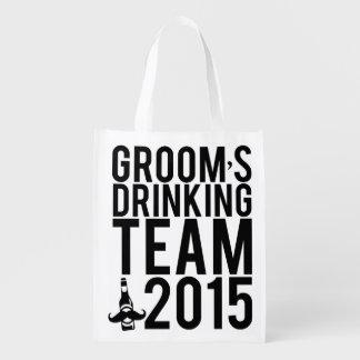 Groom's drinking team 2015 market totes