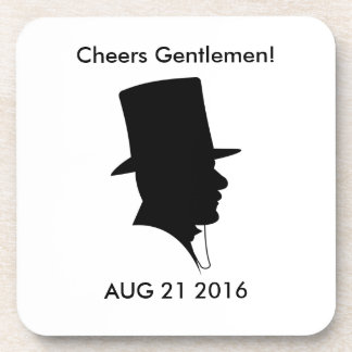 Groom's Memento Coaster