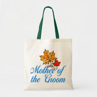 Groom's mom - fall tote bags