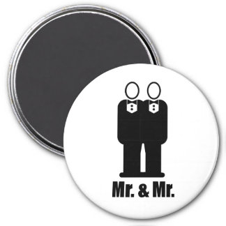 GROOMS MR. AND MR. -.png Fridge Magnets