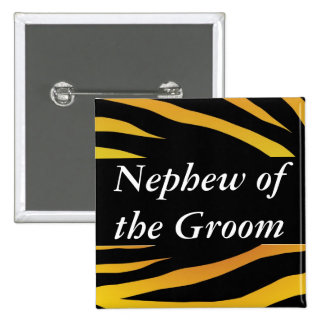 Grooms Nephew 2 Inch Square Button
