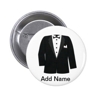 GROOM'S OR BLACK TIE EVENTS PIN