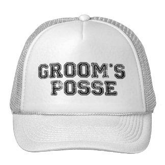 Groom's Posse Ball Cap