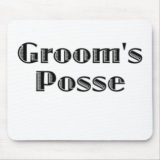 Groom's Posse Mouse Pad