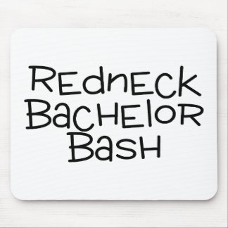 Grooms Redneck Bachelor Bash Mousepads