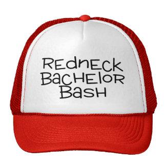 Grooms Redneck Bachelor Bash Trucker Hat
