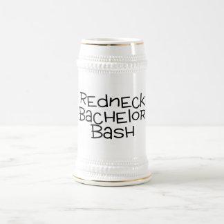 Grooms Redneck Wedding Bachelor Bash Beer Stein