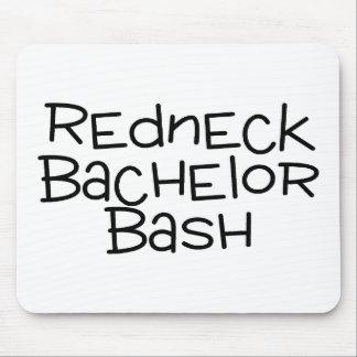 Grooms Redneck Wedding Bachelor Bash Mouse Pad
