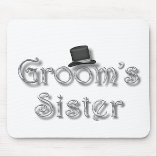 ♥ Groom's Sister ♥ Very Pretty Design ♥ Mouse Pad