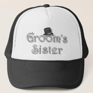 ♥ Groom's Sister ♥ Very Pretty Design ♥ Trucker Hat