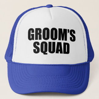 Groom's Squad funny hat for groomsman
