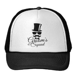 Groom's squad trucker hat