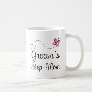Grooms Step Mom Classic White Coffee Mug