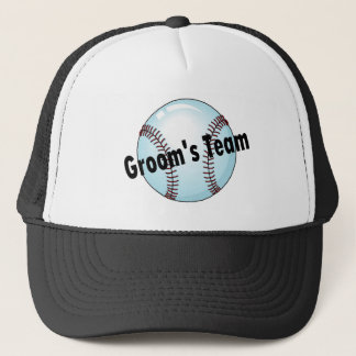 Groom's Team Trucker Hat