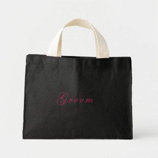 Groom's Tote Mini Tote Bag