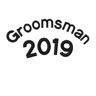 Groomsman 2010 embroideredshirt