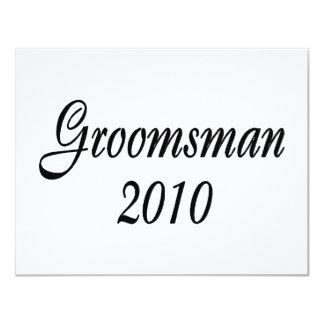 Groomsman 2010 custom invites
