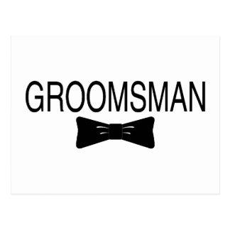 Groomsman Bowtie Postcard