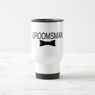Groomsman Bowtie Travel Mug