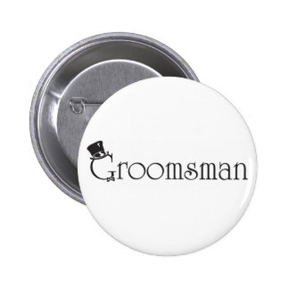 Groomsman Button
