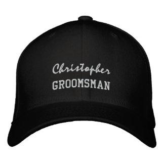 GROOMSMAN Custom Name V004 Cap