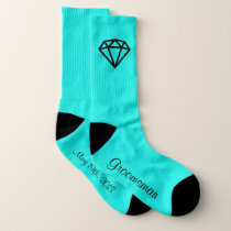 Groomsman Diamond Sock Socks