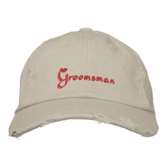 Groomsman Embroidered baseball cap